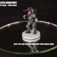 Hell Diver Power Armor Squad - Squad ZETA